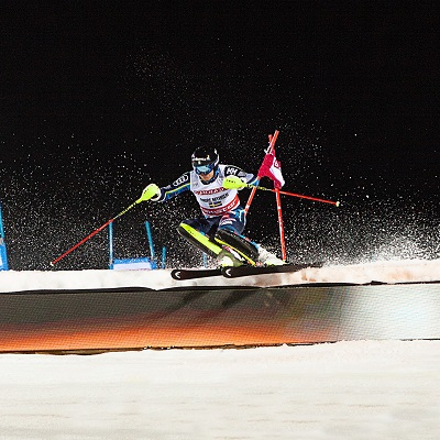 André Myhrer at FIS Ski World Cup Stockholm 2019